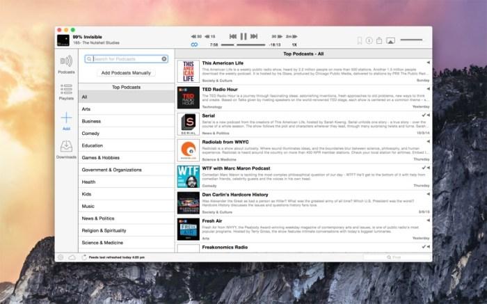 Downcast Screenshot 03 57zspbn