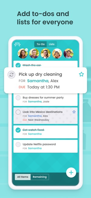 Picniic - Organizador familiar Screenshot
