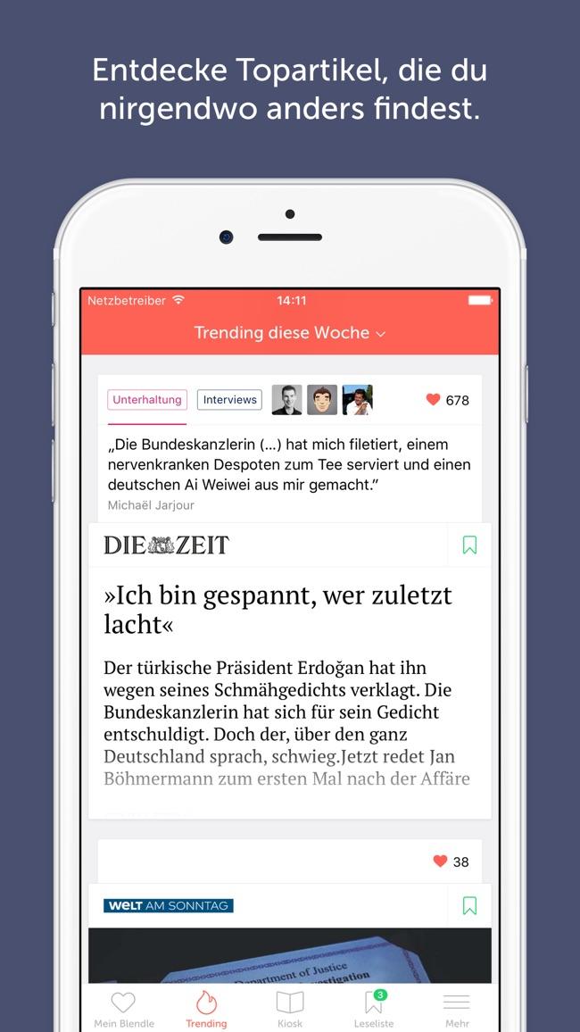 Blendle Screenshot