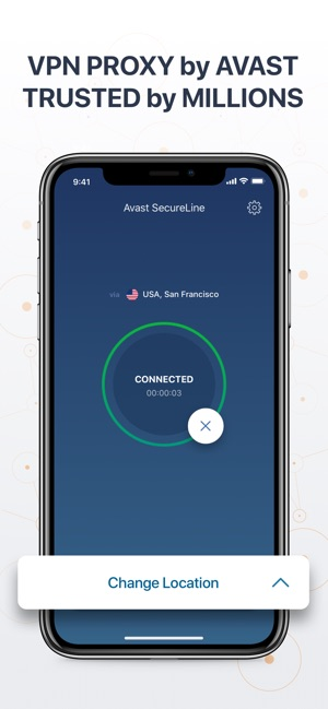 VPN SecureLine: Proxy by Avast Screenshot