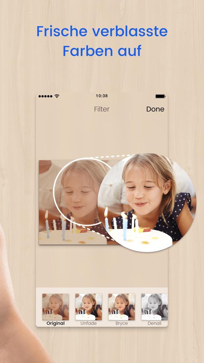 Foto Scanner Pro: Scanne Alben Screenshot