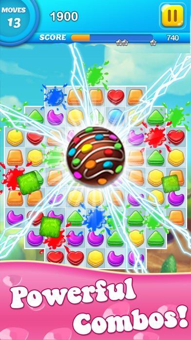 Pastry Mania Star - Candy Match 3 Puzzle 1.0.6  IOS