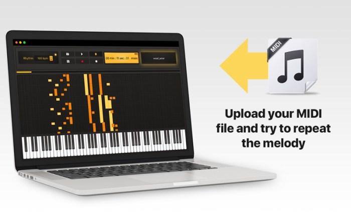 Midi Keyboard - Play & Record Screenshot 01 1k2kggjn