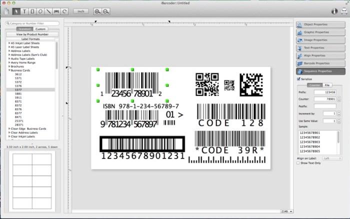 iBarcoder 3 9 8 download free | Mac Torrent Download