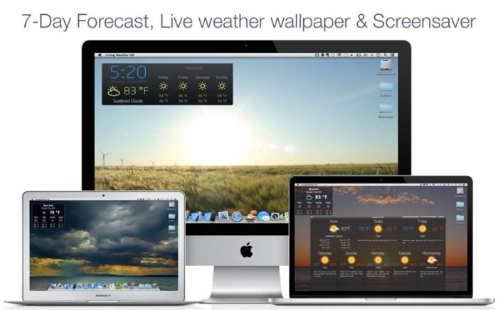Living Weather & Wallpapers HD Screenshot 01 cf188mn