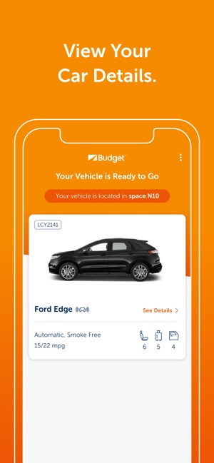 budget car rental on the app store