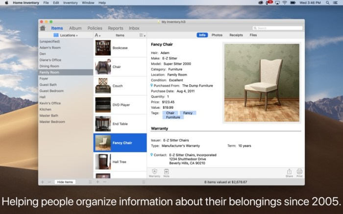 Home Inventory Screenshot 01 13btpzn