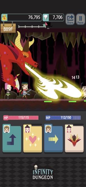 Infinity Dungeon RPG VIP Screenshot