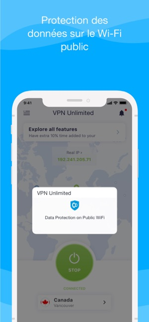 VPN Unlimited - Fast & Private Capture d'écran