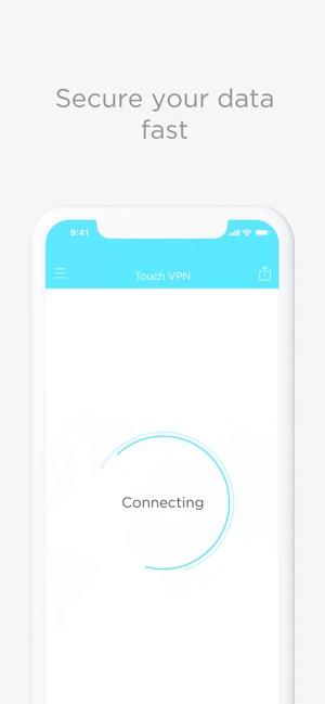 Touch VPN — Unlimited Proxy Screenshot