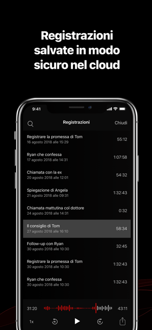‎TapeACall: registra chiamate Screenshot