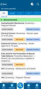USPSTF Prevention TaskForce on the App Store