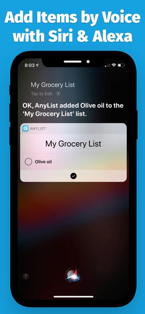AnyList: Grocery Shopping List Screenshot