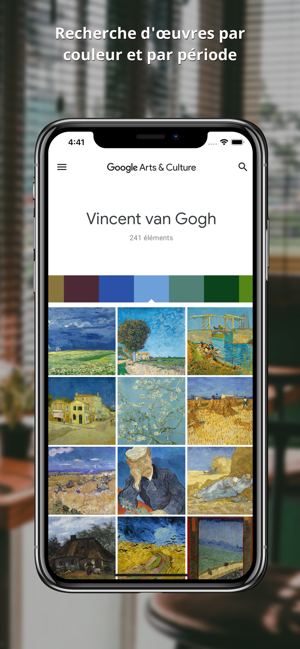 Google Arts & Culture Capture d'écran