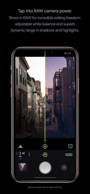 Halide Camera Screenshot