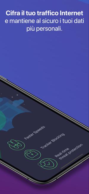 Luna: Best VPN for iPhone/iPad Screenshot