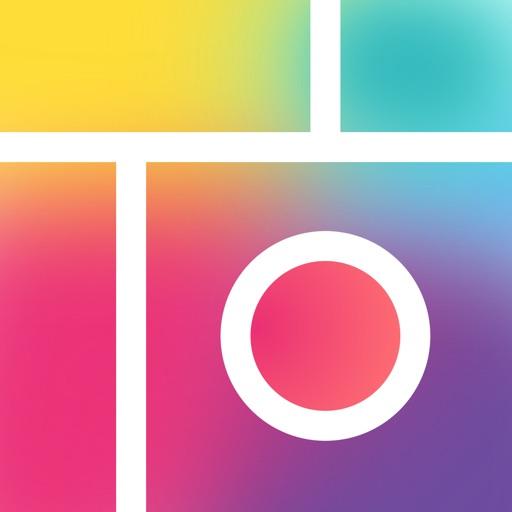 Pic Collage -  写真コラージュ 複数の写真・画像を1枚にまとめるコラージュ アプリのオススメはコレ!!2つの写真を1つにする画像結合アプリ!