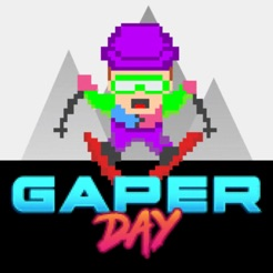 Gaper Day - Ski Crash Arcade