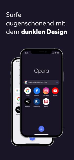 Opera: schnell & privat surfen Screenshot