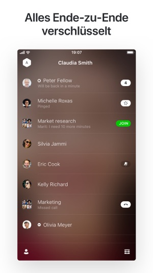 Wire • Sicherer Messenger Screenshot