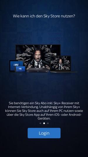 Sky Store Player Screenshot