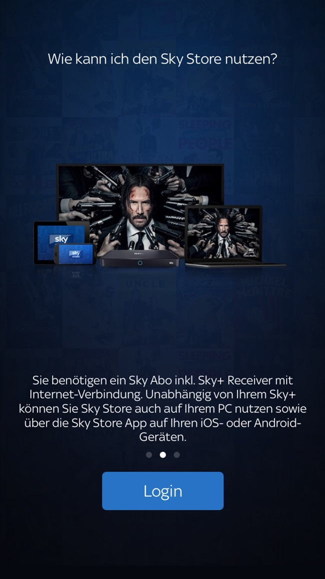 Sky Store Player Screenshot