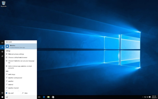 Microsoft Remote Desktop 8.0 Screenshot