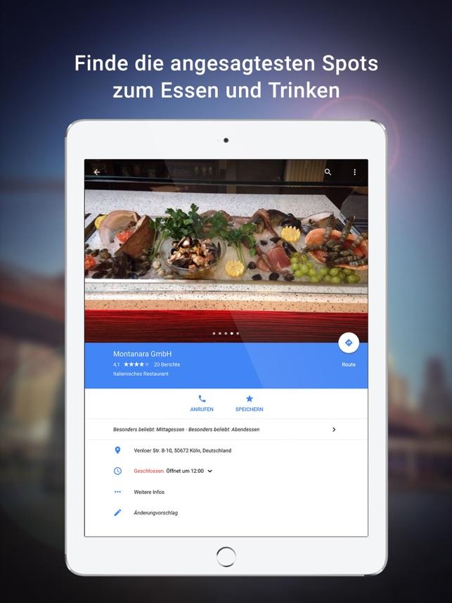 Google Maps - Transit & Essen Screenshot