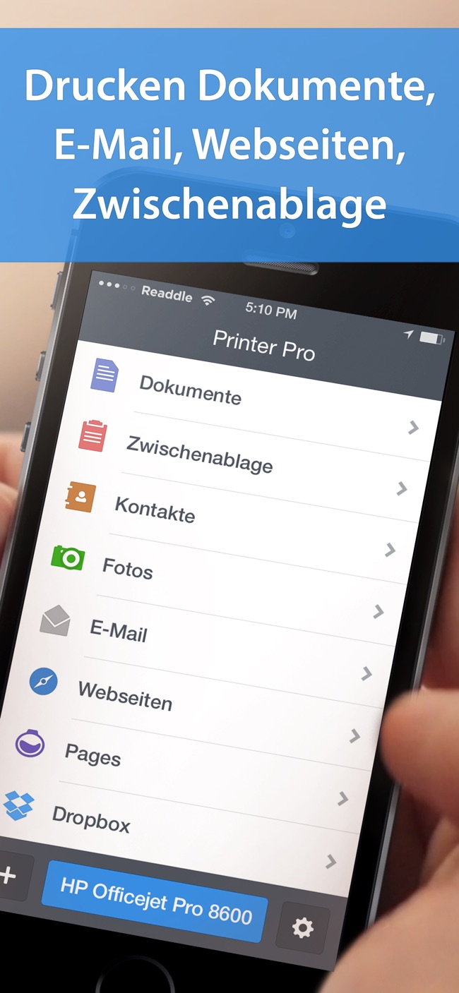 Printer Pro von Readdle Screenshot