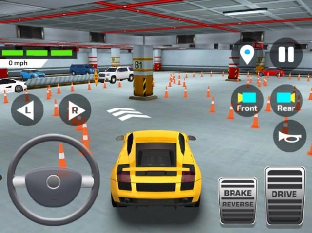 Driving School Car Simulator Screenshot