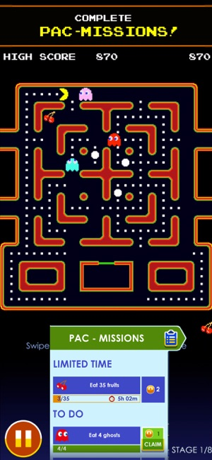 PAC-MAN Screenshot