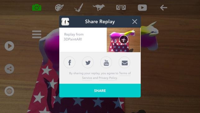 3DPaintAR Screenshot
