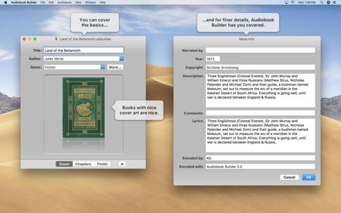 Audiobook Builder 2 Screenshot 02 cf188mn