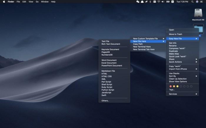 Easy New File Screenshot 01 9oof69n