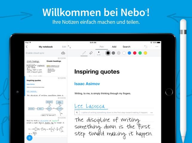 MyScript Nebo Screenshot