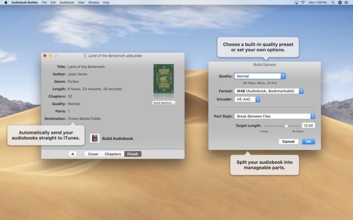 Audiobook Builder 2 Screenshot 04 135aa5n