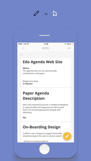 Edo Agenda Screenshot