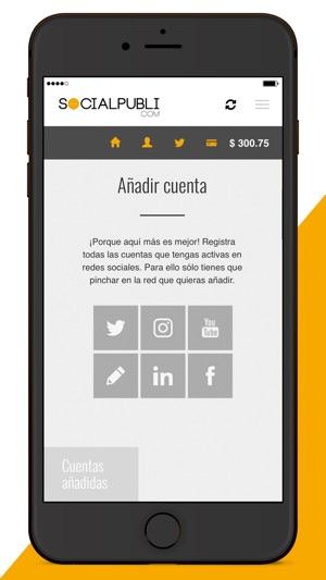 Socialpubli.com Influencers Screenshot