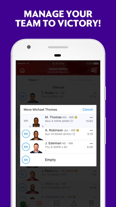 Yahoo Fantasy Football & more Screenshot