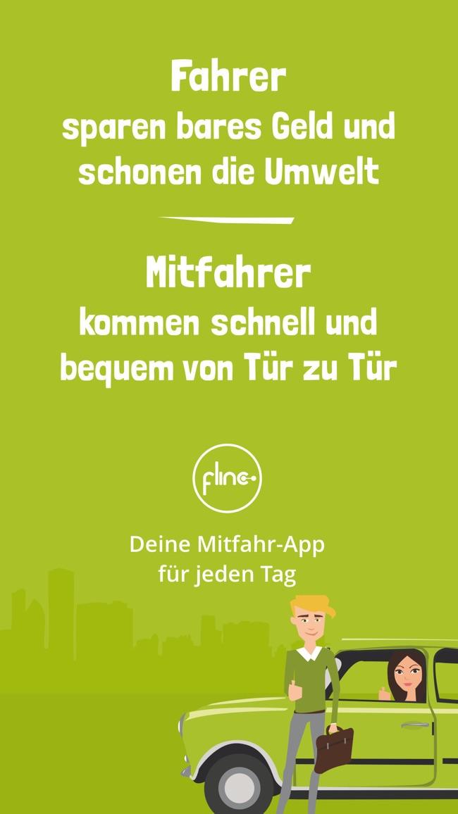 flinc - Mitfahrgelegenheit Screenshot