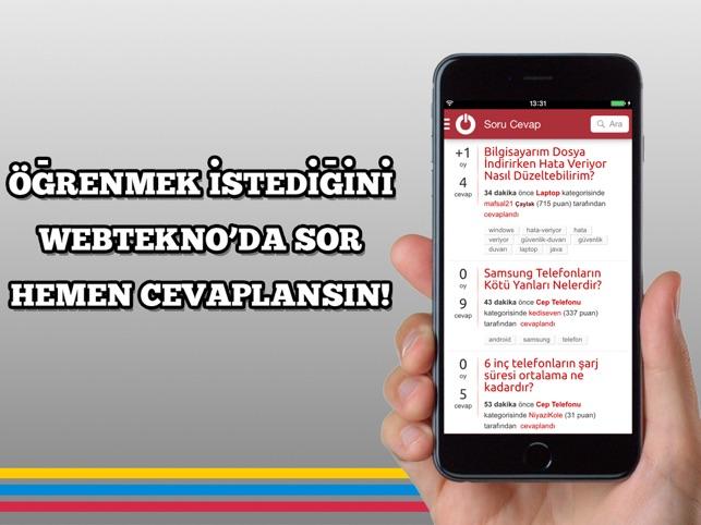 Webtekno - Teknoloji Haberleri Screenshot