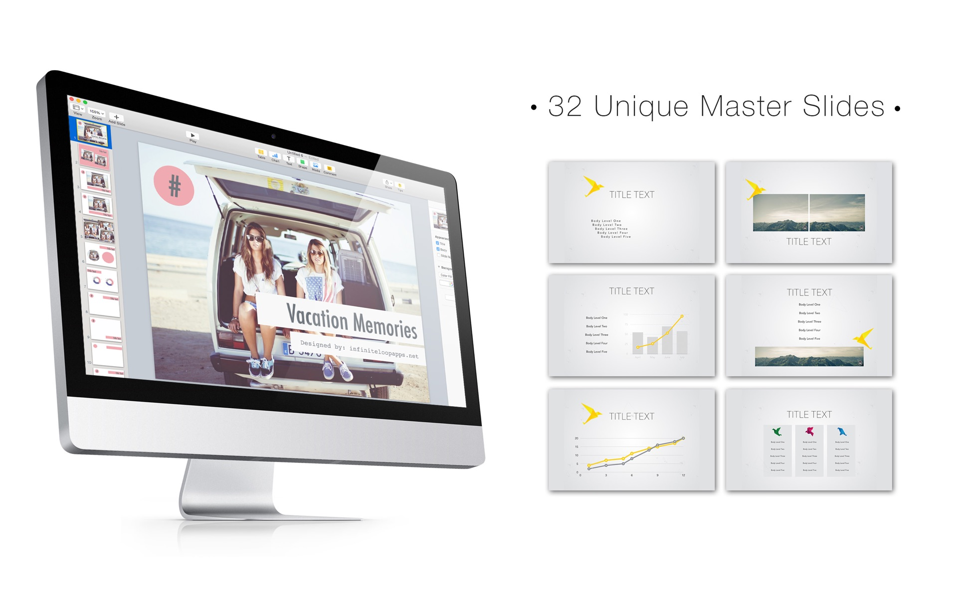 Fuel for Keynote Mac 破解版 Mac上精美的Keynote模板合集