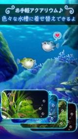 ぼくのフグさん水族館 【無料でかわいい癒し系育成ゲーム】紹介画像3