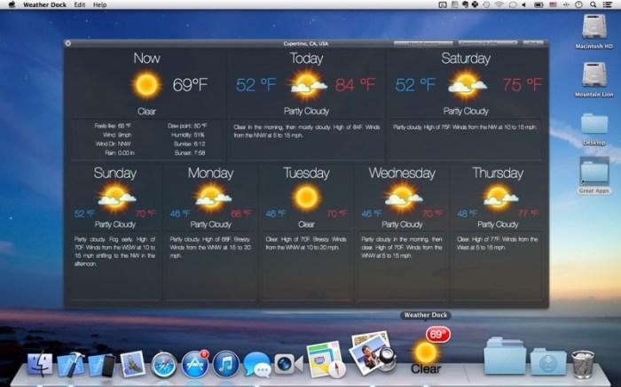 Weather Dock: Desktop forecast Screenshot 04 9wg6z1n