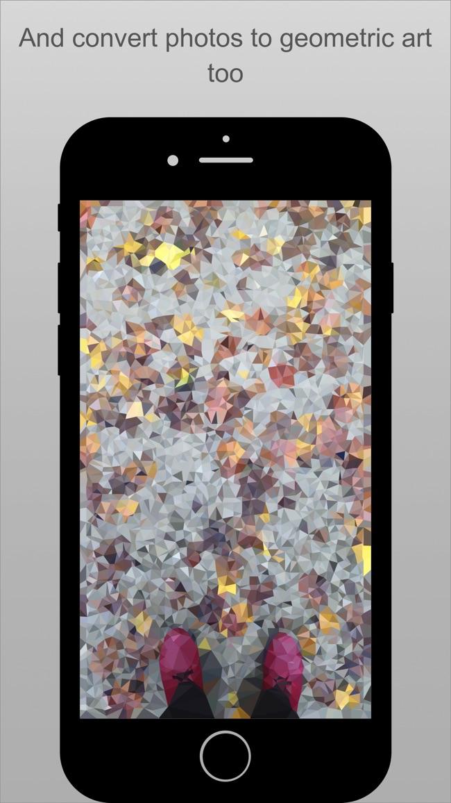 PolyGen - Create Polygon Art Screenshot