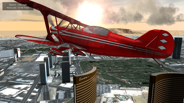 Flight Unlimited Las Vegas - Flight Simulator Screenshot