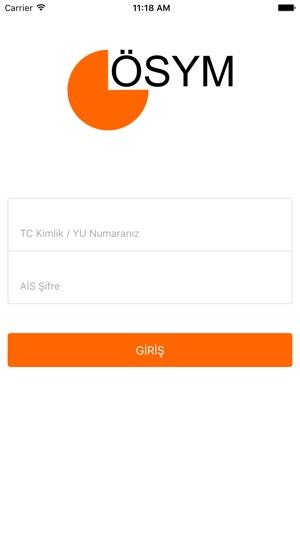 OSYM Mobil Screenshot