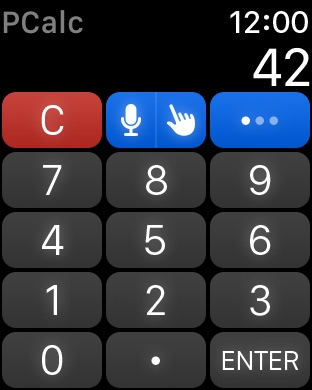 PCalc - The Best Calculator Screenshot