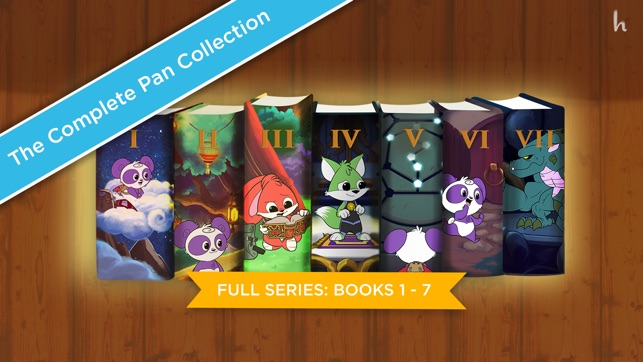 The Complete Adventures of Pan (Books 1-7) Screenshot