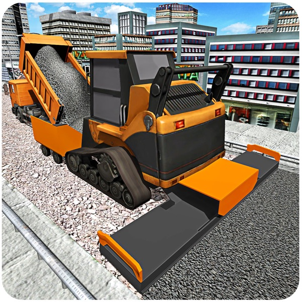 City Road Builder 2016 – Heavy construction cranes simulation game